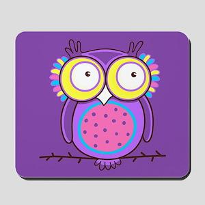 Colorful Owl Mousepad