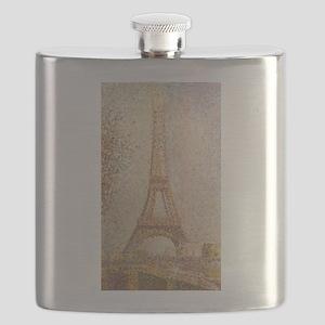 Georges Seurat's La Tour Eiffel Flask