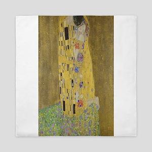 Gustav Klimt's The Kiss Queen Duvet