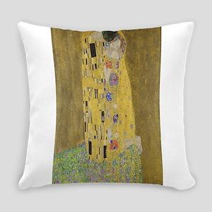 Gustav Klimt's The Kiss Everyday Pillow