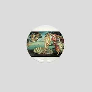 Sandro Botticelli's The Birth of Venus Mini Button