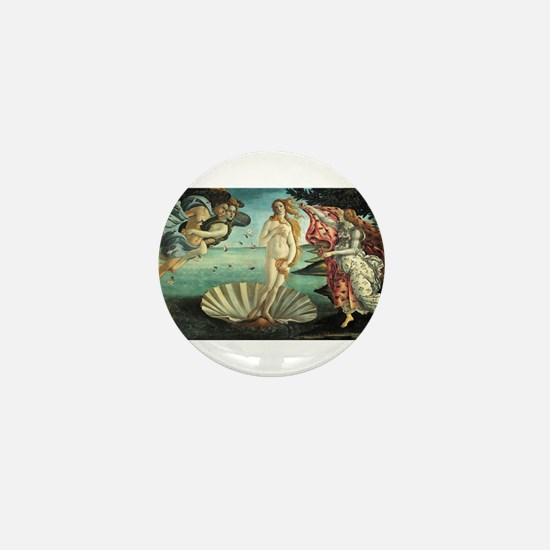 Sandro Botticelli's The Birth of Venus Mini Button