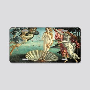 Sandro Botticelli's The Bir Aluminum License Plate