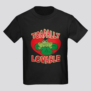 Toadally Loveable Kids Dark T-Shirt
