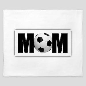 Soccer Mom King Duvet