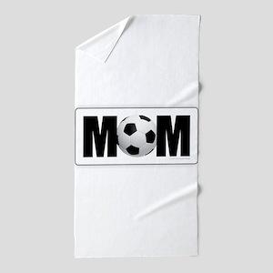 Soccer Mom Beach Towel