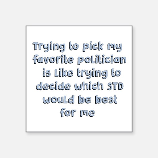 Political Thought Sticker