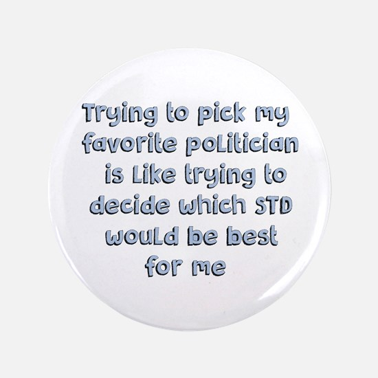 Political Thought Button