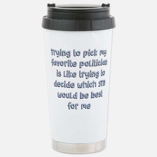 Political Thought Travel Mug