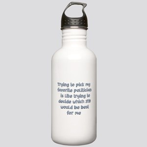 Political Thought Water Bottle