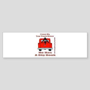 Tow Truck Driver Gift Bumper Sticker