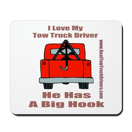Tow Truck Driver Gift Mousepad