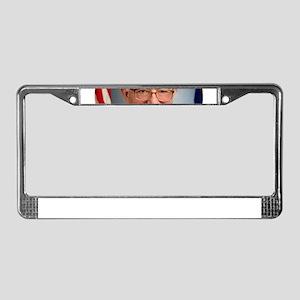 bernie sanders president License Plate Frame