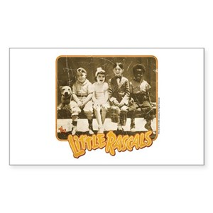 aeb2107ef6f Little Rascals Rectangle Stickers - CafePress