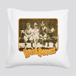 The Little Rascals Character Square Canvas Pillow