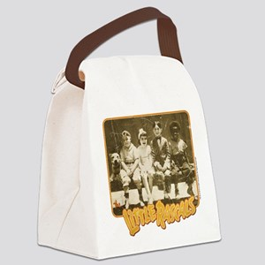 The Little Rascals Character Shot Canvas Lunch Bag