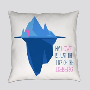 Tip Of Iceberg Everyday Pillow