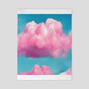 Cotton Candy Clouds Twin Duvet