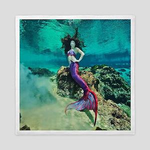 Wild Siren Mermaid Queen Duvet