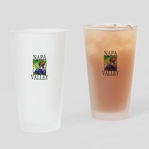 Napa Valley Drinking Glass