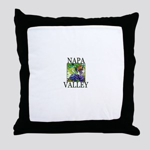 Napa Valley Throw Pillow