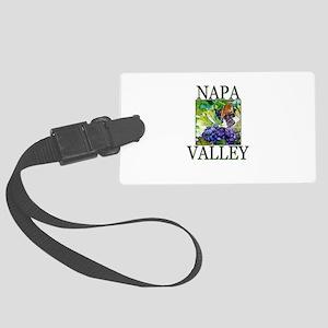 Napa Valley Large Luggage Tag