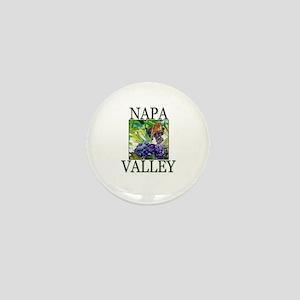 Napa Valley Mini Button
