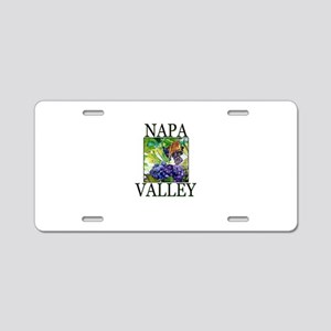 Napa Valley Aluminum License Plate