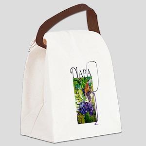 Napa Cabernet Canvas Lunch Bag