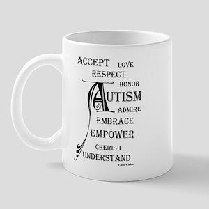 Autism love & Awareness Mug