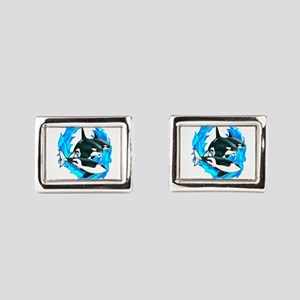 POD Rectangular Cufflinks