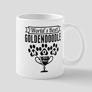 World's Best Goldendoodle Mom Mugs