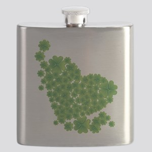 Irish shamrocks love Flask
