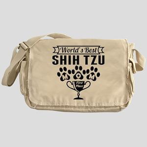 World's Best Shih Tzu Mom Messenger Bag