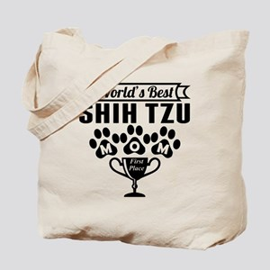 World's Best Shih Tzu Mom Tote Bag