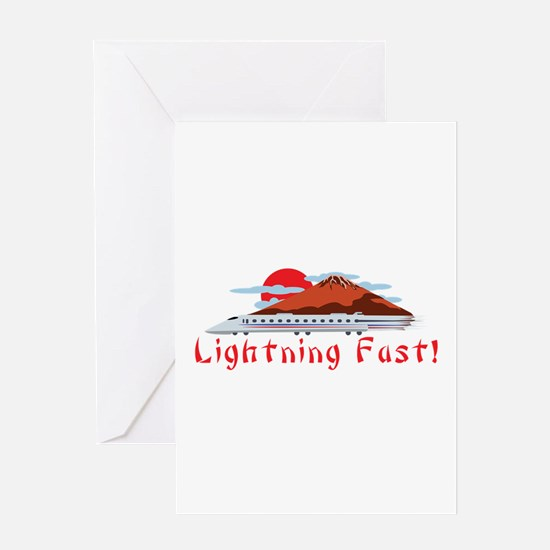 Lightning Fast Greeting Cards