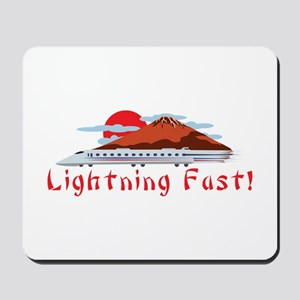 Lightning Fast Mousepad