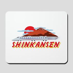 Shinkansen Mousepad