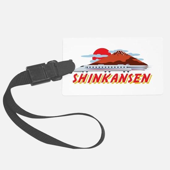 Shinkansen Luggage Tag