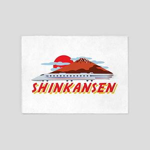 Shinkansen 5'x7'Area Rug