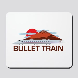 Bullet Train Mousepad