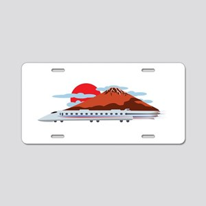 Bullett Train Aluminum License Plate