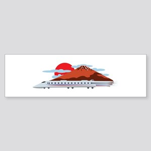 Bullett Train Bumper Sticker