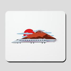 Bullett Train Mousepad