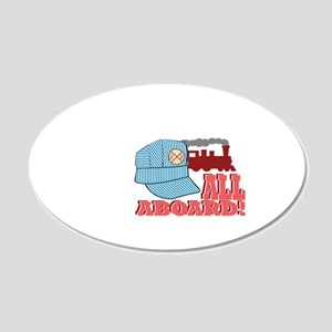 All Aboard! Wall Decal