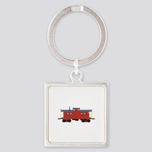 Caboose Keychains