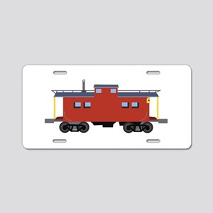 Caboose Aluminum License Plate