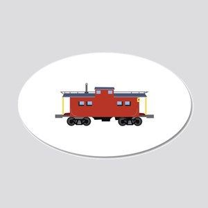 Caboose Wall Decal