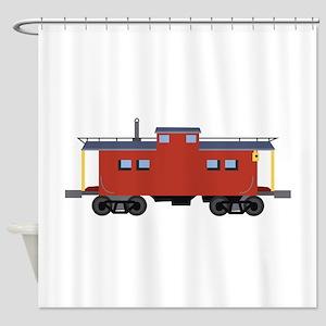 Caboose Shower Curtain