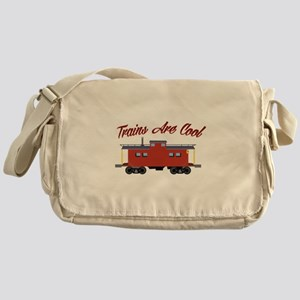 Trains Are Cool Messenger Bag